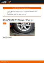 PDF guide för byta: Bärarm NISSAN bak och fram