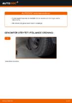 Steg-för-steg Opel Combo B reparationsguide