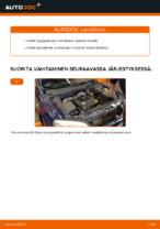 Kuinka vaihdat sytytystulpat OPEL ASTRA G (T98, F08, F48) -autoon