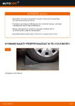 Jak wymienić mocowanie kolumny resorującej przedniej w VOLKSWAGEN PASSAT B6