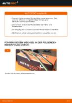 DIY-Leitfaden zum Wechsel von Scheibenwischerblätter beim TOYOTA RAV 4 III (ACA3_, ACE_, ALA3_, GSA3_, ZSA3_)