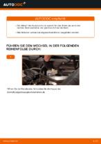 Auswechseln Bremszange MERCEDES-BENZ C-CLASS: PDF kostenlos