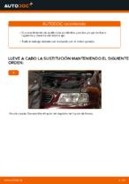 PDF manual de reemplazo: Pinza de freno AUDI A3 Hatchback (8L1) delantera y trasera