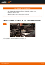 DIY MERCEDES-BENZ change Caliper rear and front - online manual pdf