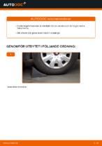 MASTER-SPORT 153383400 för AUDI, SEAT, SKODA, VW | PDF instruktioner för utbyte