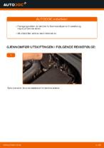 Hvordan skifte fremre bremsekaliper på VOLKSWAGEN GOLF V