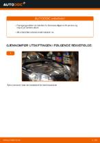 Hvordan skifte bakre bremsekaliper på VOLKSWAGEN GOLF V