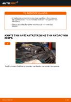 DIY εγχειρίδιο για την αντικατάσταση Δαγκανα φρενου στο VW PASSAT Variant (3B5)