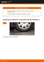 Vgraditi Vilica VW PASSAT Variant (3C5) - priročniki po korakih