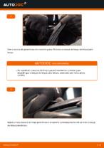 Como substituir as escovas do limpa para-brisa traseiros em TOYOTA RAV4 III (XA30)