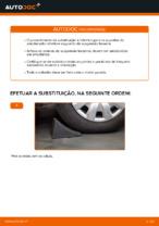 Como substituir o apoio do amortecedor traseiro no AUDI A4 B6