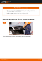 Descubra o nosso tutorial detalhado sobre como solucionar o problema do Pinças de freio traseiro e dianteiro AUDI