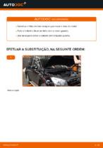 Como substituir o óleo do motor e um filtro de óleo em TOYOTA RAV4 III (XA30)