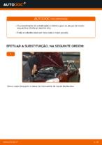 Instruções gratuitas online sobre como substituir Pinças de freio VW POLO (9N_)