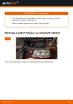 Mudar Pinças de freio: instrução pdf para AUDI A3