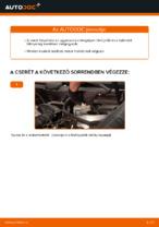 Lépésről-lépésre PDF-útmutató - MERCEDES-BENZ C-osztály Féknyereg csere