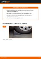 Amortizatoriaus atrama keitimas: pdf instrukcijos AUDI A4