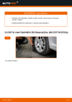 Pyöränlaakerisarja vaihto: VW CADDY pdf oppaat