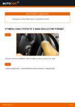 Ako vymeniť a regulovať Stieracia liżta VW CADDY: sprievodca pdf