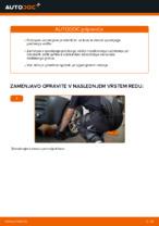 Zamenjavo Roka VW CADDY: navodila za uporabo