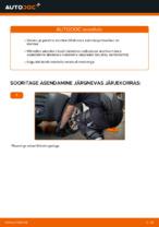 VW tagumine ja eesmine Õõtshoob vahetamine DIY - online käsiraamatute pdf