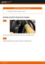 Automechanikų rekomendacijos VW VW Caddy 3 Universalas 1.6 TDI Rato guolis keitimui