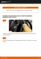 Auswechseln Wischblatt VW CADDY: PDF kostenlos
