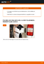 Tipps von Automechanikern zum Wechsel von VW VW Caddy 3 Kombi 1.6 TDI Luftfilter