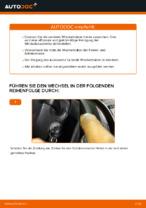 Wechseln von Wischblatt Instruktion PDF für VW CADDY
