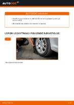 Online gratis instruktioner hvordan skifter man Hjullejesæt VW CADDY III Estate (2KB, 2KJ, 2CB, 2CJ)