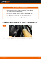 VW CADDY troubleshoot manual