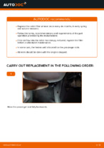 Workshop manual for VW CADDY online
