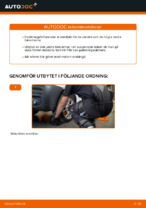 Byta Länkarm hjulupphängning bak och fram VW själv - online handböcker pdf
