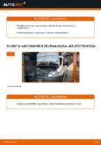 VW CADDY Ilmansuodatin vaihto : käsikirja verkossa