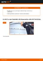 Tulpat vaihto: VW CADDY pdf oppaat