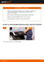 Kuinka vaihdat takajarrulevyt AUDI A4 B6 -autoon