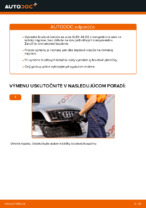 Ako vymeniť zadné brzdové kotúče na AUDI A4 B6