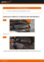 Kako zamenjati rebrasti jermen motorja na OPEL CORSA C (F08, F68)