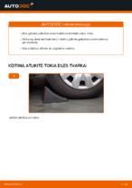 Kaip pakeisti galinės pakabos amortizatorius AUDI A4 B6