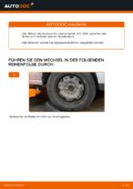 Installation von Lenker Radaufhängung VW POLO (9N_) - Schritt für Schritt Handbuch