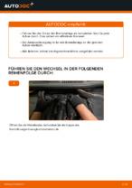 Brauchbare Handbuch zum Austausch von Bremsbelagsatz beim VW TOURAN (1T3)