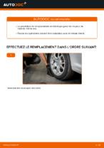 Remplacement Jeu de roulements de roue VW CADDY : pdf gratuit