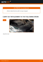 DIY TOYOTA change Poly v-belt - online manual pdf