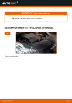 PDF Manual för reparation av reservdelar bil: TOYOTA COROLLA (ZZE12_, NDE12_, ZDE12_)