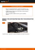 DIY εγχειρίδιο για την αντικατάσταση Τακάκια Φρένων στο MINI MINI (R50, R53)