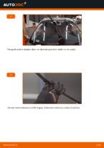 Kako zamenjati sprenje lopatice brisalca na RENAULT SCENIC II (JM)