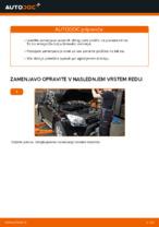 Zamenjavo Zavorne Ploščice TOYOTA RAV4: navodila za uporabo