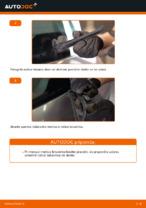 Kako zamenjati zadnje lopatice brisalca na RENAULT SCENIC II (JM)