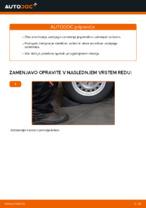 Avtomehanična priporočil za zamenjavo OPEL Opel Astra g f48 1.6 (F08, F48) Gumice Stabilizatorja