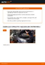 Kako zamenjati kabinski zračni filter v RENAULT SCENIC II (JM)